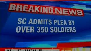 In an unprecedented move, over 350 soldiers have moved the top court - NEWSXLIVE