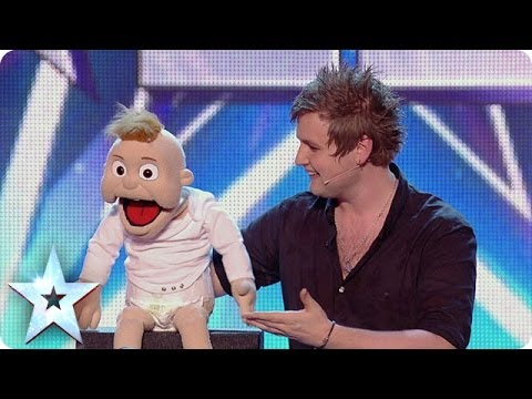 Ventriloquist Sam Jones impresses the Judges with Baby Leo | Britain's Got Talent 2014