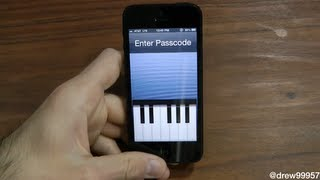[Cydia Tweak] Piano Passcode Play The Piano to unlock Your Device
