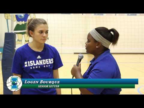 Islanders Volleyball win over Prairie View A&M