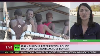 French cops drop off migrants in Italian woods, Salvini furious - RUSSIATODAY