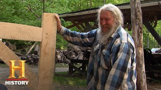 Mountain Men: Eustace and Joseph Handcraft a Rustic Bed (Season 7, Episode 15) | History - HISTORYCHANNEL
