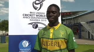 U19 Africa Qualifier 20 Mar 19 – Uganda v Nigeria - CRICKETWORLDMEDIA