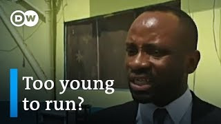 Nigeria election 2019: Chike Ukaegbu not too young to take on education | DW News - DEUTSCHEWELLEENGLISH