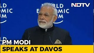 PM Modi Addresses World Leaders, CEOs At Davos - NDTV