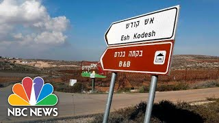 Airbnb West Bank Decision Both Condemned And Lauded | NBC News - NBCNEWS