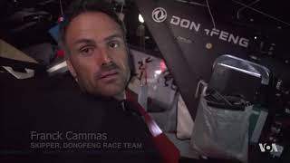 Highlights From Volvo Ocean Race as Teams Approach Hong Kong - VOAVIDEO