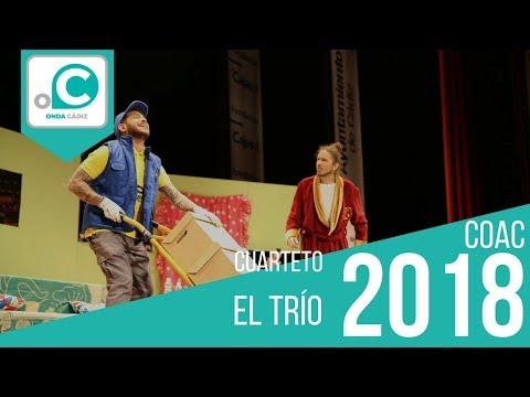Sesión de Preliminares, la agrupación El trío actúa hoy en la modalidad de Cuartetos.