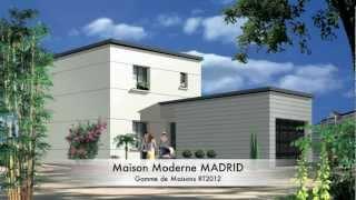 Maison Contemporaine MADRID RT2012 ORCA - YouTube
