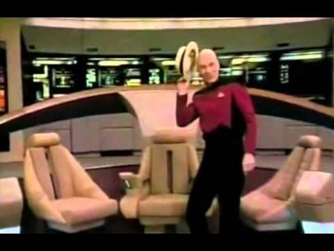Picard dances for Gene Roddenberry's birthday