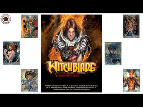 Witchblade Collector Cards Box Break & Breakdown, Breygent
