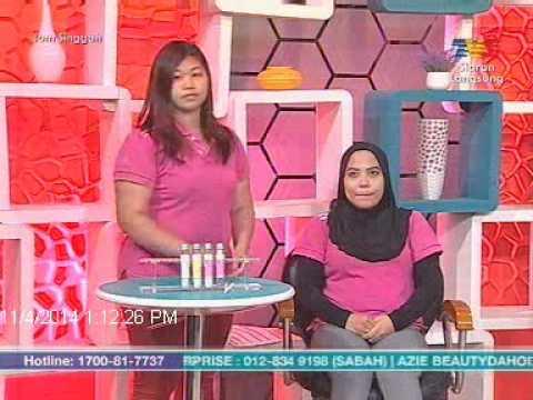 Wanita Hari Ini  04/11/2014 Manfaat dan cara kegunaan Chriszen Tube Mask