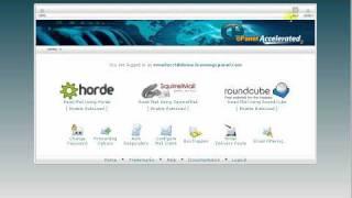 Webmail i kullanmak