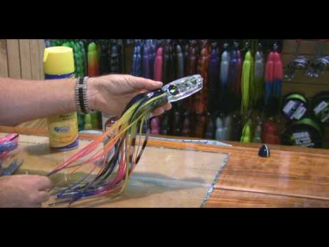 Black Bart Lure Skirting Tips & Techniques