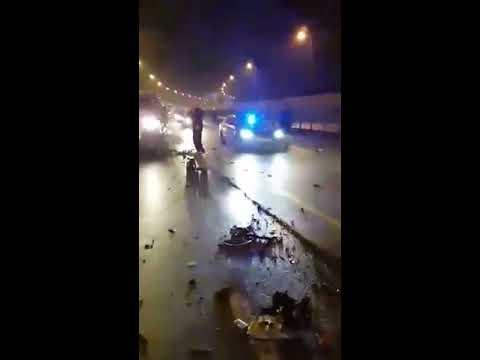Wypadek auta z Antonim Macierewiczem
