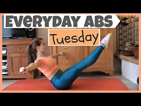Everyday Abs Series - Tuesday [3.5 Minute Workout]