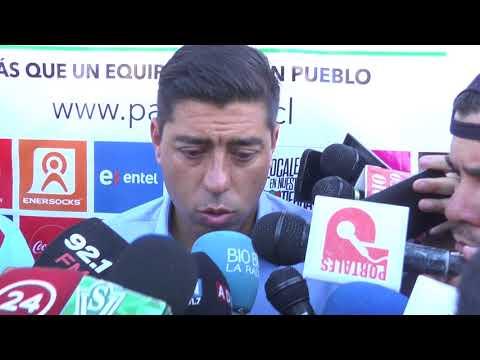 Conferencia de prensa Nico Córdova, Palestino vs Wanderers