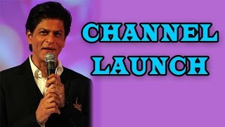 Shahrukh Khan at the launch of a new channel | Bollywood News