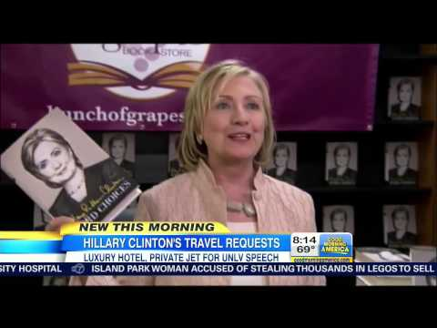 ABC Reporters Mock And Laugh At Clinton's Extravagant Travel Demands