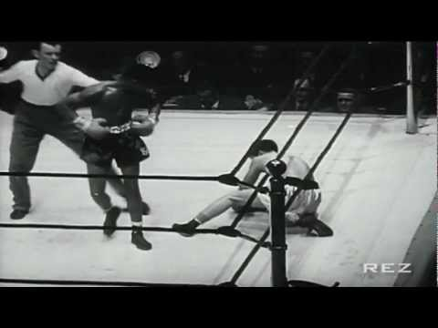 HD Sugar Ray Robinson Knockouts & Highlights