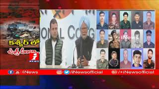 Pulwama Attack | Manmohan Singh Convey Condolences To Famines Of Jawans | iNews - INEWS