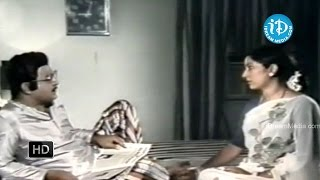 Gaaju Bommalu Movie - Prabhakar Reddy, Annapoorna Emotional Scene - IDREAMMOVIES