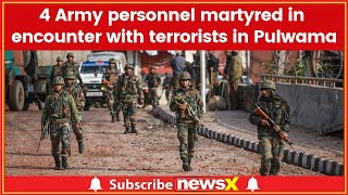 Pulwama Colen: 4 Army personnel including Major martyred in encounter with terrorists in Pulwama - NEWSXLIVE