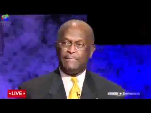 Ron Paul schools Herman Cain