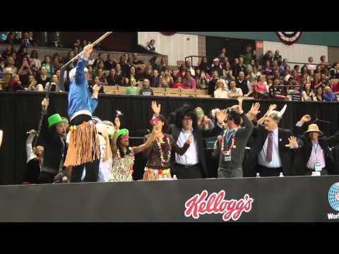 USA Gymnastics Harlem Shake - 2013 AT&T American Cup