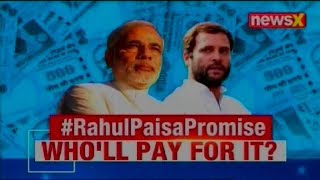 Rahul Gandhi announces Basic Income Scheme to benefit 25 crore Indians, Who'll pay for it? - NEWSXLIVE