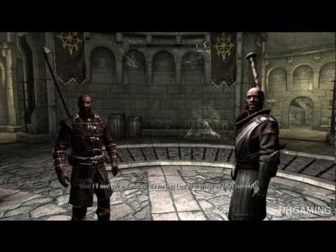 Skyrim Dawnguard - walkthrough part 1 HD gameplay dlc add on FULL vampire lord &amp; Dawnguard paths