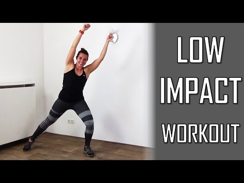 20 Minute Low Impact Workout - Fat Burning Low Impact Cardio Exercises At Home