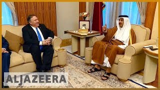 🇺🇸 US secretary of state calls on Gulf states to end dispute | Al Jazeera English - ALJAZEERAENGLISH