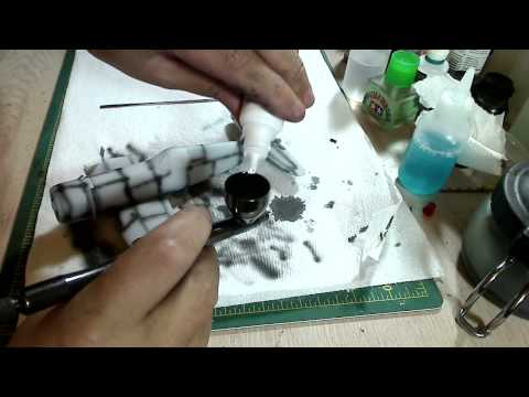 Building a Corsair: Tamiya 1/48 - Part 10: Priming, Pre-shading and Base Coat