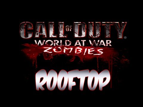 Custom Zombies RoofTop map