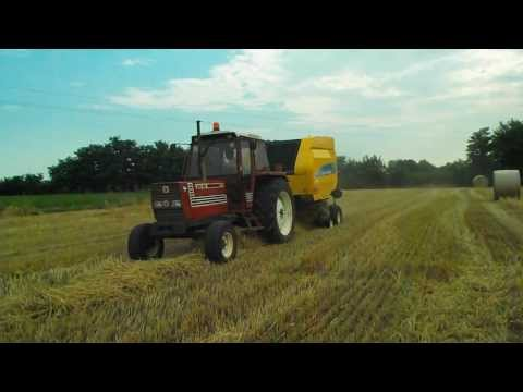 Imballatura paglia 2013 a Istrana (TV) [HD]