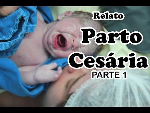 Parto Cesária - parte 1