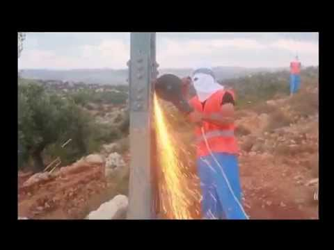 Israeli West Bank power line disabled with grinder sabotage settlement electricity