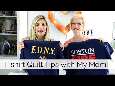 How to Make a T-Shirt Quilt
