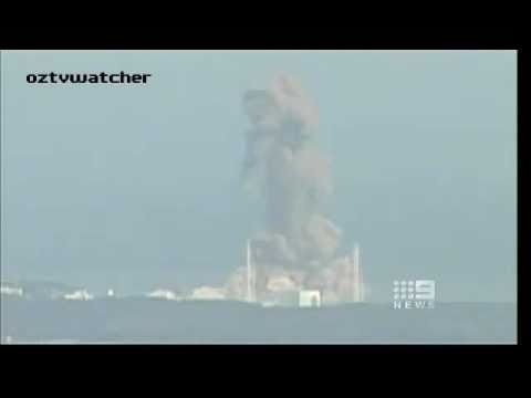 Japan Fukushima Second Nuclear Reactor Explosion From 8.9 Earthquake, Tsunami