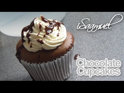 How to make Delicious Chocolate Cupcakes! (Moist and Chocolatey)