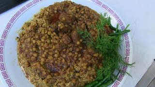 Sticky Rice - Afghan Shola-e Ghorbandi - Special Rice recipe
