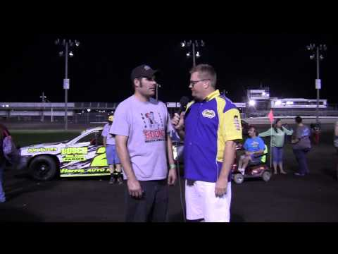 Wayne Gifford Stock car Feature winner 07/19/14