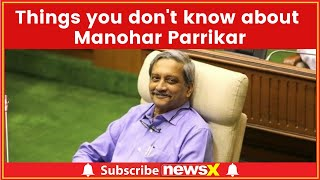 Things You Need To Know About Manohar Parrikar — Surgical Strike To Rafale Deal - NEWSXLIVE