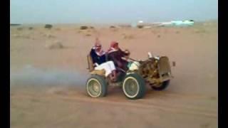 100%サウジアラビア製の車。ってか個人で作ったもんじゃんw。