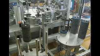 Линия производства эластично-лепестковых шлифовальных кругов