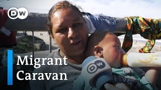 Caravan update: Thousands of migrants reach US border at Tijuana | DW News - DEUTSCHEWELLEENGLISH