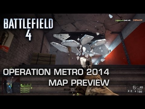 Operation Metro 2014: Battlefield 4 - Second Assault Map Preview (Xbox One)