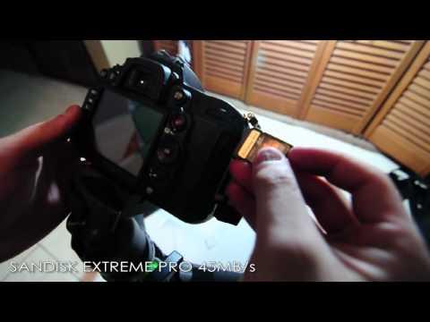 Nikon D7000 Buffer Test w/ SanDisk Extreme Pro UHS-I 45MB/s
