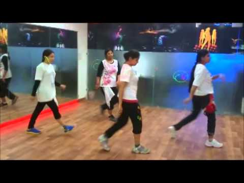 CHAND CHUPA BADAL MEIN LYRICAL HIP-HOP BY DANSATION DANCE STUDIO MOHALI